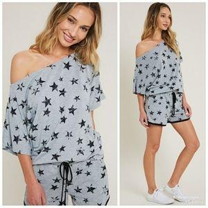 ⭐ Star One Shoulder Super Soft Tunic ⭐